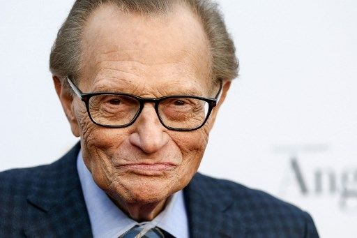 Penyiar legendaris AS Larry King. [AFP]