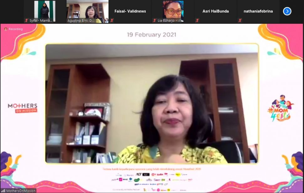 Widya Safitri, CEO Mothers on Mission (MoM) dan MoM Academy (MoMA)