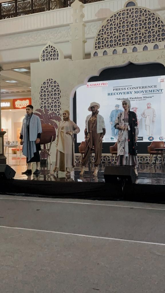 """Konferensi Pers Recovery Movement """"Modest Fashion Show"""" di Sleman City Hall (dok. Sleman City Hall)"""