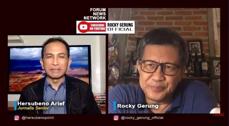 Rocky Gerung Sindir 51 Guru Besar Yang Minta RUU KPK Dibatalkan. (YouTube/Rocky Gerung)