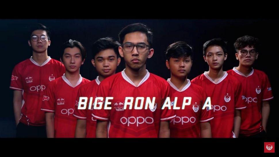 Roster Bigetron Alpha untuk MPL Season 8. (youtube/Bigetron)