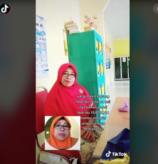 Terungkap Sosok Ibu Sri Yang Viral Di Tiktok Minta Publik Tak Lagi Pakai Fotonya